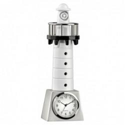 Tisch-Uhr Leuchtturm