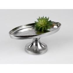 copy of Girlande/Dekohänger ca.60 cm silberne Metall-Ringe + klare Acryl-Elemente
