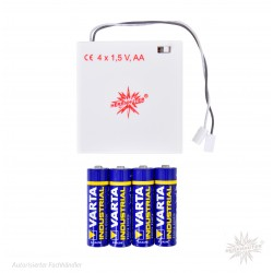 Battery holder white,...